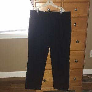 Black size 10 petite trousers